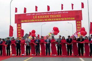 Khánh thành cầu Bình Ca trên tuyến đường Hồ Chí Minh