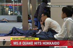 Động đất tại Hokkaido: Bốn người bị thương và giao thông bị đình trệ