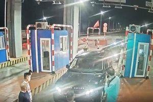 Hàng loạt ôtô lưu tông trên cao tốc Hạ Long-Hải Phòng bị ném đá có chủ đích