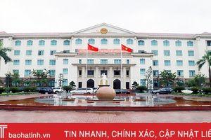 Thành lập Trung tâm Thông tin - Công báo - Tin học tỉnh Hà Tĩnh