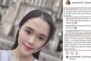 Chỉ đăng bức ảnh selfie, bạn gái Duy Mạnh cũng bị chê trách 'nhà giàu còn muốn moi tiền người yêu và fan'