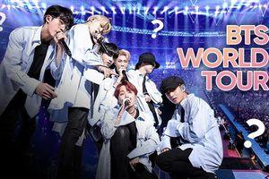 Ván cược may rủi mang tên BTS và câu chuyện World Tour