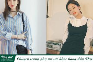 Học ngay 5 công thức diện áo sơ mi cực đẹp cho quý cô công sở trong tiết trời ấm áp này