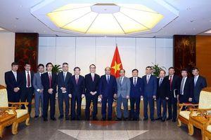 Thủ tướng Chính phủ Nguyễn Xuân Phúc tiếp Tổng Giám đốc Ngân hàng MUFG, Nhật Bản