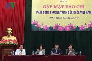 HLV Park Hang Seo làm Đại sứ Thiện chí Chương trình Sức khỏe Việt Nam