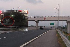 Truy tìm những kẻ ném đá vỡ kính ô tô trên cao tốc Hạ Long – Hải Phòng