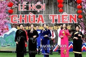 Tưng bừng lễ hội Chùa Tiên năm 2019