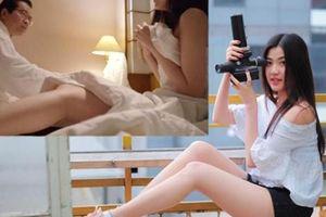 Nhan sắc nữ diễn viên Việt đóng cảnh nóng với nghệ sĩ gạo cội hơn 44 tuổi