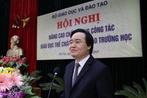 Bộ trưởng Phùng Xuân Nhạ trăn trở về giáo viên thể chất