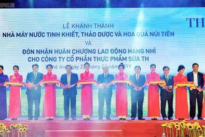 Thủ tướng dự lễ khánh thành nhà máy chế biến hoa quả ở Nghệ An