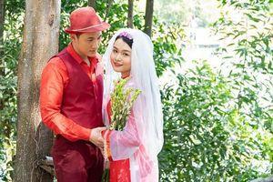 Con gái Hoàng Mập chụp hình cưới lãng mạn với nam diễn viên bị đồn có vợ con ở Mỹ