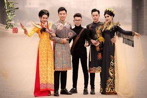 NTK 9x mượn tà áo dài để kể về câu chuyện lịch sử Cố đô Hoa Lư
