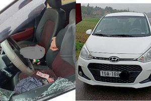 Nữ tài xế bị đâm tử vong trong ô tô