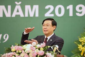 Phó Thủ tướng Vương Đình Huệ: Đưa thị trường cổ phiếu đạt 100% GDP vào năm 2020