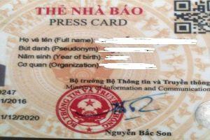 Thẻ nhà báo do hai cựu Bộ trưởng Thông tin và Truyền thông ký cấp sẽ ra sao?