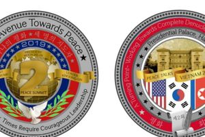 Nhà Trắng bán đồng xu kỷ niệm thượng đỉnh Trump-Kim lần hai