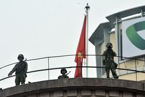 Công an, quân đội tăng cường an ninh trước hội nghị Mỹ - Triều