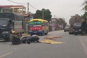 Va chạm với xe ô tô cùng chiều, nam thanh niên bị xe bồn cán qua tử vong tại chỗ