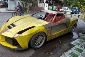 Thợ hàn tự chế siêu xe LaFerrari