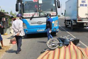 Kiên Giang: Cha con tử vong do tai nạn giao thông