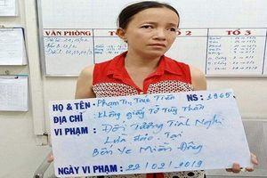 Bắt 'nữ quái' đánh thuốc mê vào thức ăn để trộm tài sản ở bến xe Miền Đông