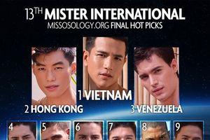 Trước giờ chung kết: Trịnh Bảo bất ngờ vươn lên, được dự đoán đăng quang Nam vương Quốc tế