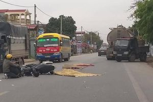 Nam thanh niên bị xe bồn cán đứt người, tử vong tại chỗ