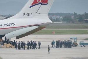 Máy bay Triều Tiên hạ cánh xuống sân bay Nội Bài trước thượng đỉnh Mỹ-Triều