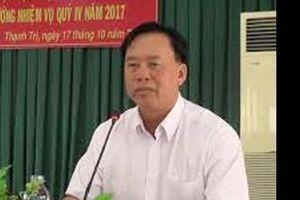 Chủ tịch UBND huyện xin nghỉ hưu trước tuổi