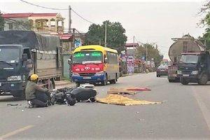 Ngã xuống đường sau va chạm giao thông, nam thanh niên bị xe bồn cán chết