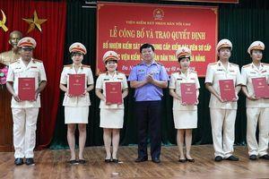 Bổ nhiệm kiểm sát viên trung cấp, sơ cấp tại Đà Nẵng
