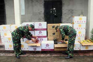 BĐBP Quảng Ninh bắt giữ 15.000 bao thuốc lá điếu nhập lậu
