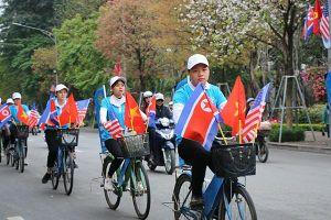 Hà Nội: Tổ chức diễu hành trước thềm Hội nghị Thượng đỉnh Mỹ – Triều