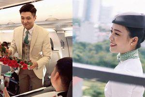 Danh tính cặp đôi tiếp viên hàng không trai xinh gái đẹp được dân mạng tìm kiếm