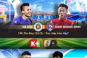 Thưởng thức trọn vẹn các giải đấu từ trong nước đến châu Âu trên K+ V-League 2019