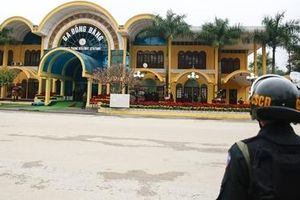 An ninh được thắt chặt tại nhà ga Đồng Đăng, Lạng Sơn