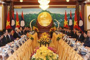 Vun đắp mối quan hệ Việt Nam - Lào mãi mãi xanh tươi, đời đời bền vững