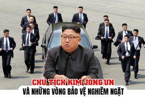 Chủ tịch Triều Tiên Kim Jong-un và những vòng bảo vệ nghiêm ngặt