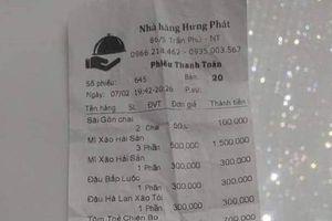 Nhà hàng 'chặt chém' du khách ở Nha Trang bị phạt gần 30 triệu
