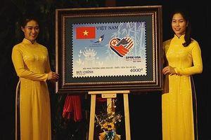 Cận cảnh bộ tem đặc biệt chào mừng Hội nghị thượng đỉnh Hoa Kỳ-Triều Tiên