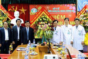 Chủ tịch UBND tỉnh Thái Thanh Quý chúc mừng các đơn vị y tế nhân Ngày Thầy thuốc Việt Nam