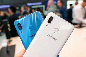Cận cảnh Samsung Galaxy A30: Camera kép, pin 'khủng'