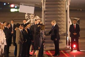 Tổng thống Donald Trump cảm ơn sự đón tiếp nồng hậu, chu đáo của Việt Nam