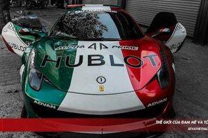 Siêu xe Ferrari 458 Italia độ Liberty Walk đầu tiên tại Việt Nam tiếp tục lột xác ấn tượng hơn