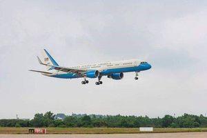 Chuyên cơ dự phòng của TT Donald Trump đang ở sân bay Đà Nẵng