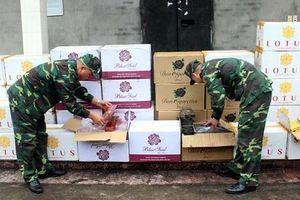 Quảng Ninh: Chặn đứng một vụ buôn lậu thuốc lá ngoại số lượng lớn