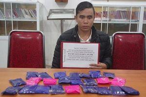 Nghệ An: Bắt đối tượng mua bán 4.800 viên ma túy tổng hợp