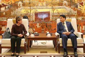 Hà Nội có nhiều lĩnh vực tiềm năng hợp tác với Singapore