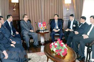 Đoàn đại biểu Lãnh đạo cấp cao Triều Tiên tham quan Vịnh Hạ Long