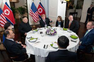 Bữa tối giữa hai nhà lãnh đạo Mỹ - Triều